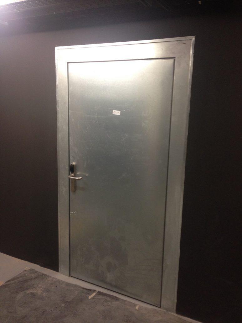 Danet Inoxidables - Puerta Simple Cortafuegos EI2-60 C5 en Acero Galvanizado